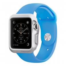 Фото чехла для Apple Watch 42mm Spigen Slim Armor Silver