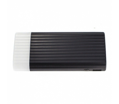 Внешний аккумулятор Remax Ice Cream, 2 USB-A, 10000 mAh, чёрный, фото 1