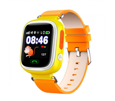 Детские часы-телефон Wonlex Baby Watch Q80 желтый Q80 Yellow, фото 1