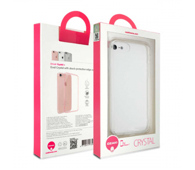 Прозрачный чехол для iPhone 7 Ozaki O!coat Crystal, фото 2
