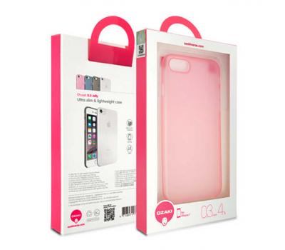 Чехол для iPhone 7 Ozaki O!coat 0.3 Jelly (розовый), фото 2
