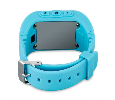Умные детские часы с GPS Smart Baby Watch Q50, голубые, фото 2