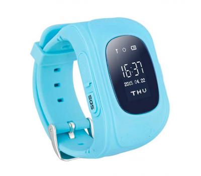 Умные детские часы с GPS Smart Baby Watch Q50, голубые, фото 1
