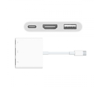 Хаб Apple, с USB-C, белый, фото 1