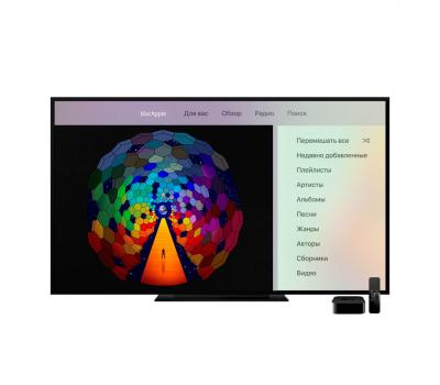 Мультимедийная приставка Apple TV, 4K, 64 ГБ, чёрный, фото 4