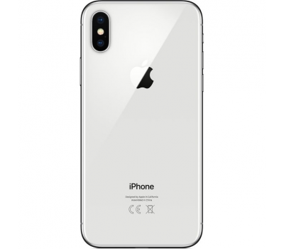 Apple iPhone X 64GB (серебристый), фото 2