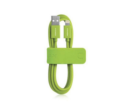 фото кабеля Momax Elite Link 1m Lightning Cable - Green