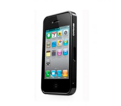 Бампер Capdase Alumor DuoFrame для iPhone 4/4S, черный, фото 1