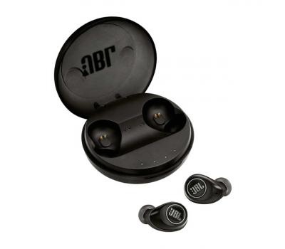 Беспроводные вакуумные наушники JBL FREE, для спорта, черные, фото 3