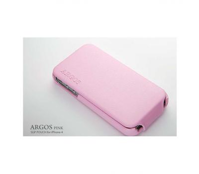 Чехол SGP Argos для iPhone 4/4S, розовый, фото 1