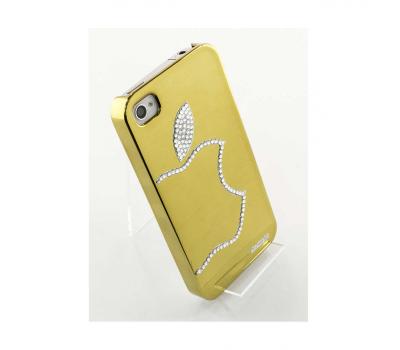 Чехол LeShine для iPhone 4 и 4s, золотой, фото 2