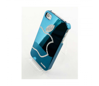Чехол LeShine Blue для iPhone 4 и 4s, синий, фото 1