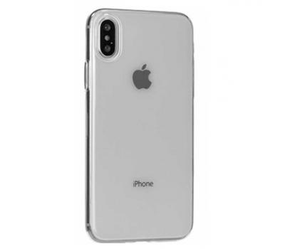 Чехол Hoco Light Series TPU для iPhone X, прозрачный, фото 1