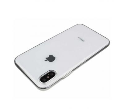 Чехол Hoco Light Series TPU для iPhone X, прозрачный, фото 2