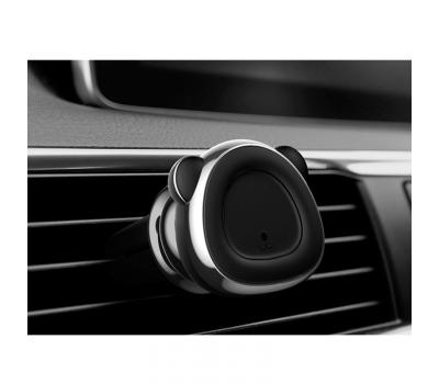 Держатель для авто Baseus Bear, магнитный, серый, фото 3