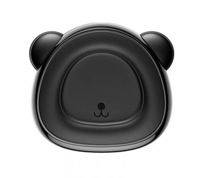 Держатель для авто Baseus Bear, магнитный, чёрный, фото 1