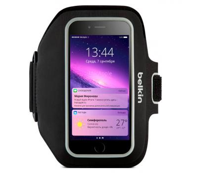 Чехол спортивный Belkin Sport-Fit Plus Armband для iPhone 6 Plus, черный, F8W610btC00, фото 1
