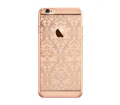 Чехол крышка Devia Crystal Baroque для iPhone 6/6S, шампанское золото, фото 1