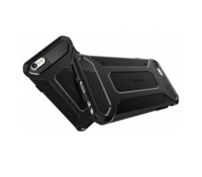 Чехол SGP Rugged Armor для iPhone 6/6S, черный, фото 3