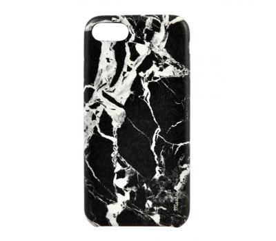 Чехол Uniq Marbre для iPhone 7, черный, фото 1