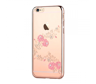 Чехол Vouni Crystal Gorgeous Case для iPhone 6/6S, шампанское золото, фото 2