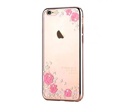 Чехол крышка Devia Crystal Joyous для iPhone 6/6S, шампанское золото, фото 1