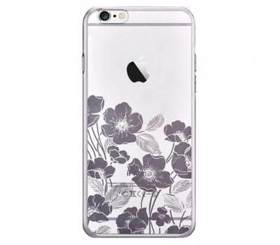 Чехол Devia Crystal Rococo для iPhone 6 Plus/6S Plus, стальной, фото 1