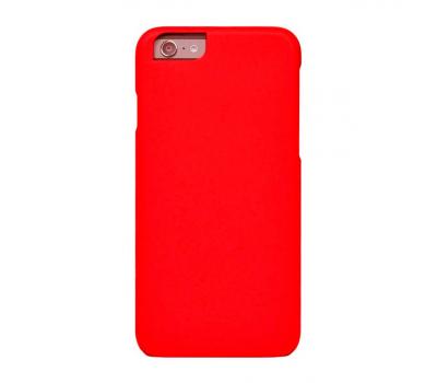 Чехол-крышка iCover Rubber для iPhone 6/6S, красный, фото 1