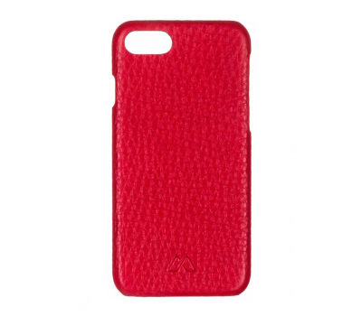 Чехол из текстурированной кожи Moodz для iPhone 7 и 8, красный, фото 1