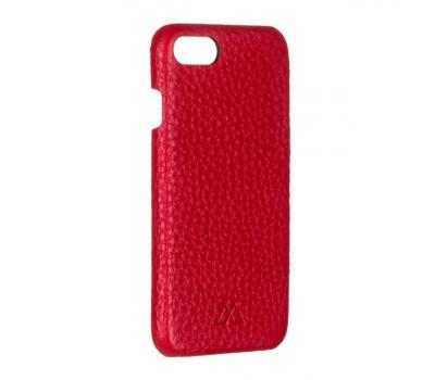 Чехол из текстурированной кожи Moodz для iPhone 7 и 8, красный, фото 2