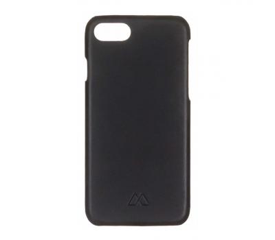 Фото чехла для iPhone 7 Moodz Soft leather Hard Notte (чёрный)