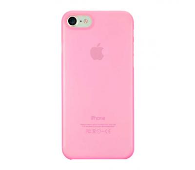 Чехол для iPhone 7 Ozaki O!coat 0.3 Jelly розового цвета