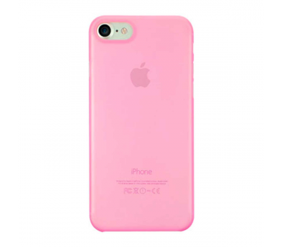 Чехол для iPhone 7 Ozaki O!coat 0.3 Jelly (розовый), фото 1