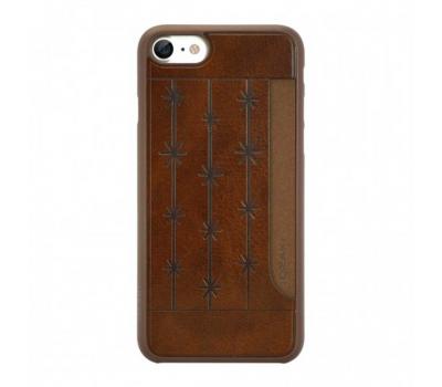 Набор из двух чехлов Ozaki Jelly и Ozaki Pocket для iPhone 7, прозрачный и коричневый, фото 3