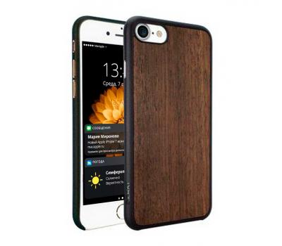 Чехол для iPhone 7 Ozaki O!coat 0.3 + Wood (тёмно-коричневый), фото 1