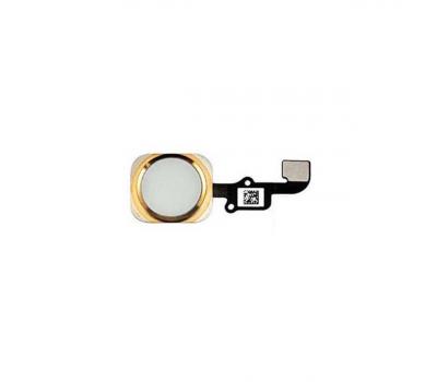 Кнопка домой в сборе со шлейфом iPhone 6/6 Plus, оригинал, золото, фото 1
