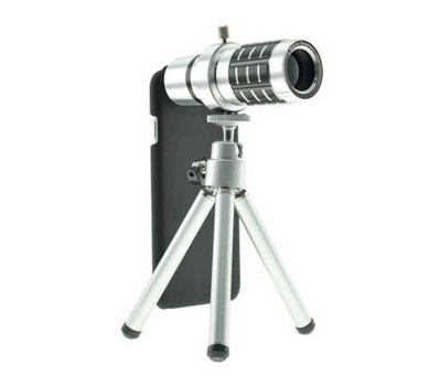 Фото объектива для iPhone 6 и 6s Magnifier Zoom Aluminum Camera Telephoto, с триподом