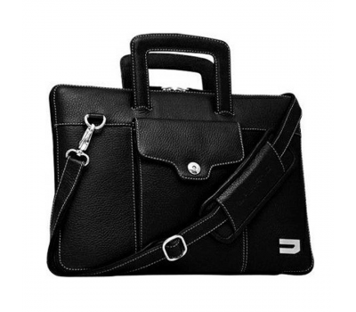 Сумка Urbano Leather Habdbag for Macbook Air 13 черный, фото 2