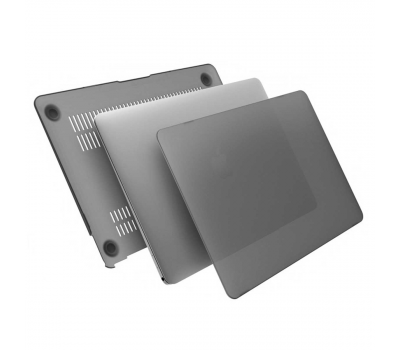 Чехол накладка пластиковая i-Blason для Macbook 12 Retina (black), фото 3