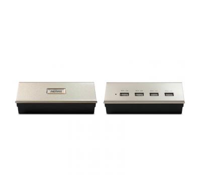 Сетевое зарядное устройство Remax на 4 USB (RHUB-G402), фото 1