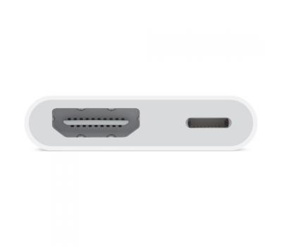 Переходник Apple, с Lightning на цифровой AV и HDMI, белый, фото 1