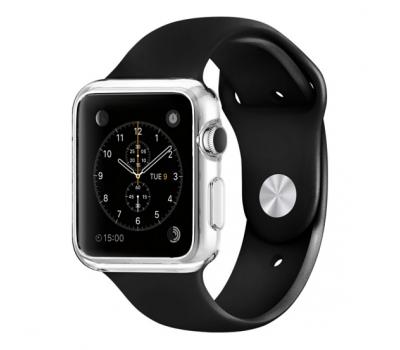 Фото чехла для Apple Watch 42mm Spigen Liquid, прозрачного