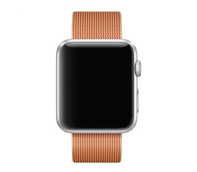 """Ремешок нейлоновый для Apple Watch (42mm), """"Розовое золото"""", фото 3"""