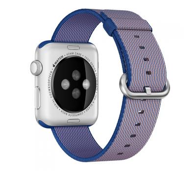 """Ремешок нейлоновый для Apple Watch (42mm) """"кобальт"""", фото 1"""