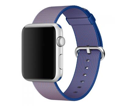 """Ремешок нейлоновый для Apple Watch (42mm) """"кобальт"""", фото 2"""