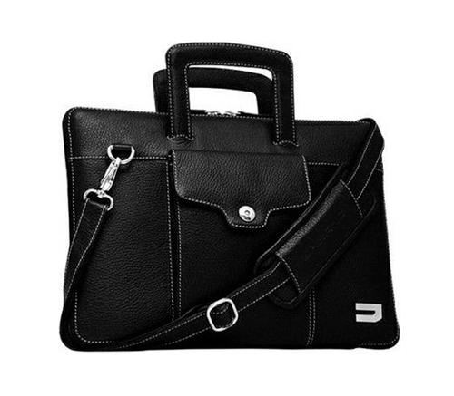 Сумка Urbano Leather Habdbag for Macbook Air 13 черный, фото 2