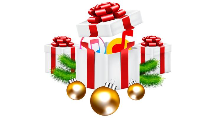 Подборка новогодней музыки в Apple Music и ЯндексМузыка